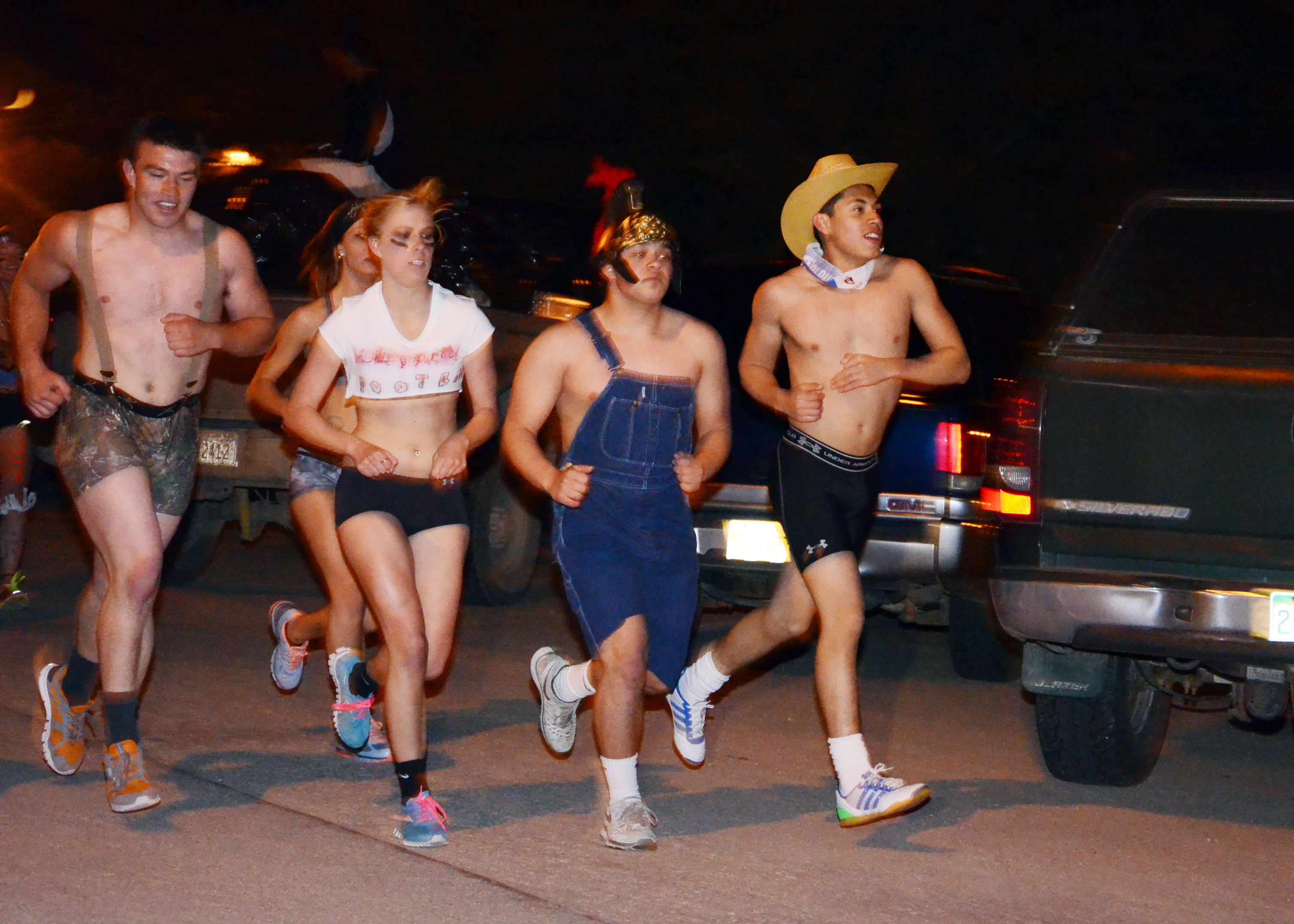 Nearly Naked Mile Clothing Drive | On Wed., October 27